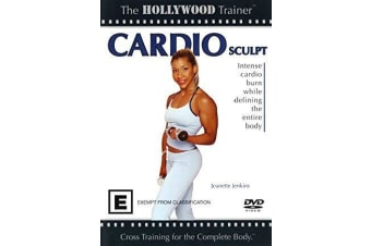 HOLLYWOOD TRAINER CARDIO SCULPT -Educational Series Region 4 DVD NEW