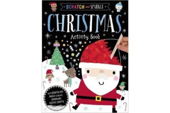 Scratch and Sparkle Christmas Activity Book