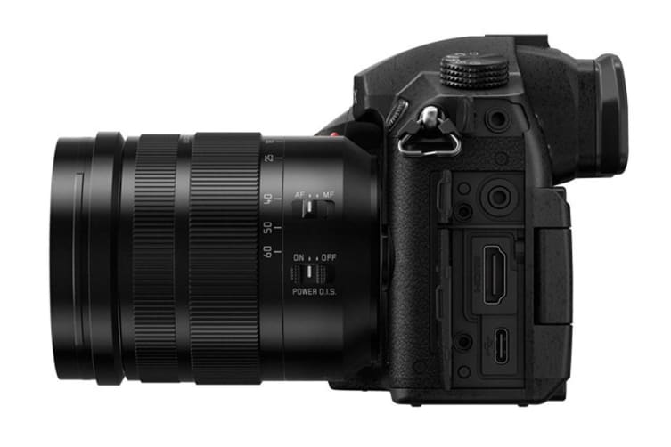 Panasonic Lumix GH5 with 12-60mm f/2 8-4 Lens