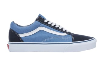 Vans Unisex Old Skool Shoe (Navy Blue, Size 4 US)