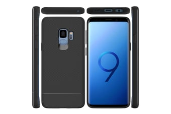 For Samsung Galaxy S9 Armour Case Snap Black Armor Shock Proof Light Slim Cover