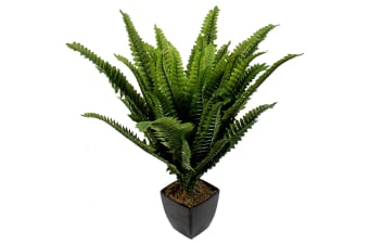 Artificial Boston Fern In Pot
