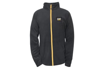 Caterpillar Mens Concord Fleece Jacket (Black)