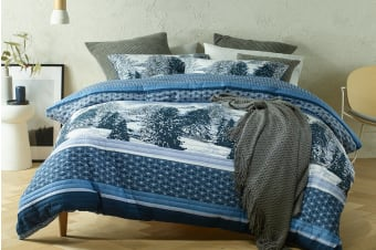 Bianca Chalet Quilt Cover Set (King)