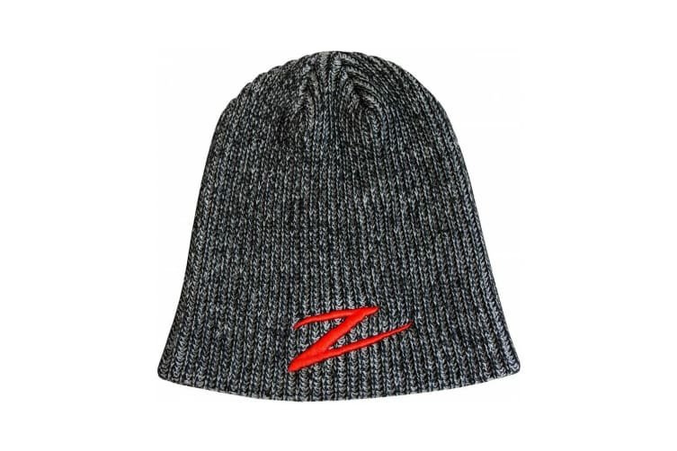 ZMan Lures Zman Quick Drying Acrylic and Knit Construction Beanie - Black/Gray