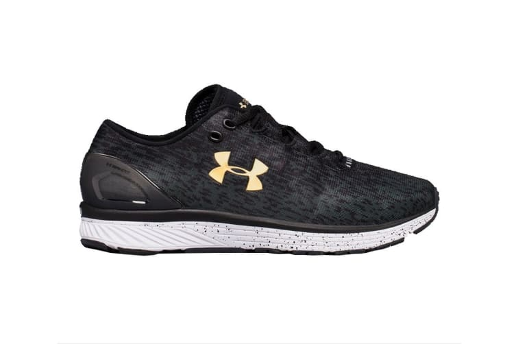 Under Armour Men's Charged Bandit 3 Ombre Shoe (Black/Anthracite, Size 11.5)