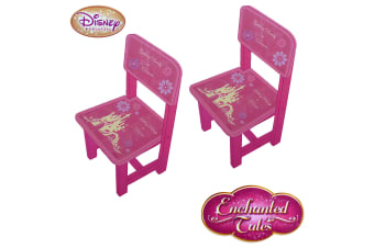 Pair of Disney Princess Enchanted Tales Wooden Chairs