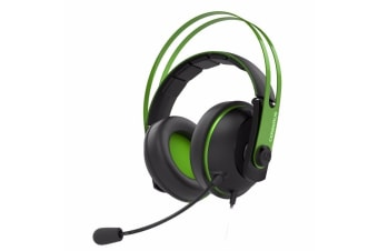 Asus Cerberus V2 Gaming Headset with 53mm Essence Drivers - Green Color - Cerberus V2 (Green)