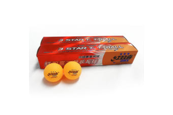 12x DHS 3 Star 40mm Table Tennis Ping Pong Competition Balls,Orange