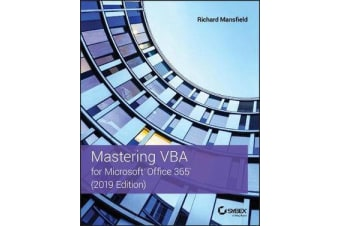 Mastering VBA for Microsoft Office 365