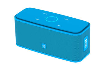 DOSS SoundBox Portable Bluetooth Speaker with Bluetooth 4.0 and 12W HD Sound - Blue (DS1681BLU)