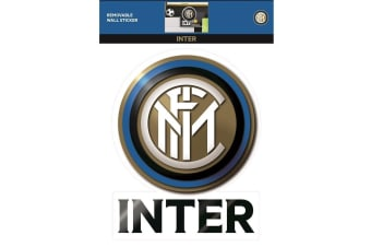 FC Inter Milan Official Wall Sticker (Gold/Blue) (One Size)
