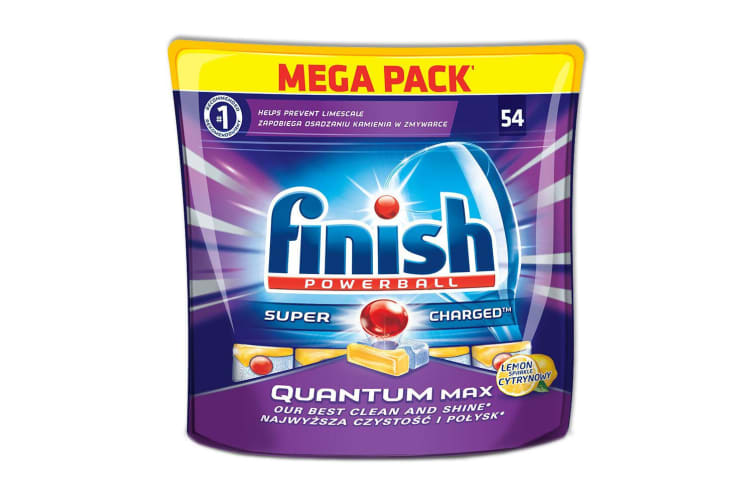 54PK Finish Powerball Tablets - Quantum Max - Lemon Sparkle