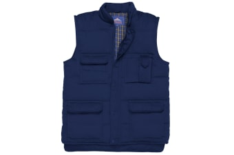 Portwest Mens Shetland Bodywarmer (S414) / Jacket (Navy) (2XL)