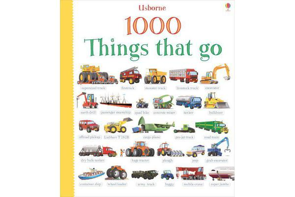 Image of 1000 Things That Go