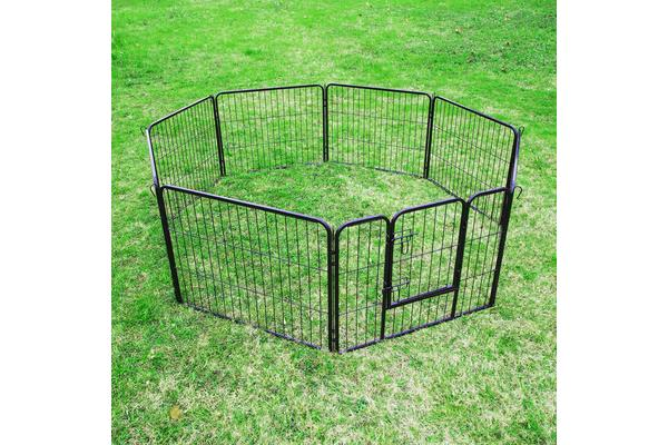 8 Heavy Duty Panel Foldable Pet Playpen 31""