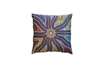 Sunshine Aboriginal Design Cushion Cover
