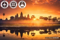 INDOCHINA: 21 Day Cambodia, Laos & Vietnam Tour Including Flights for Two