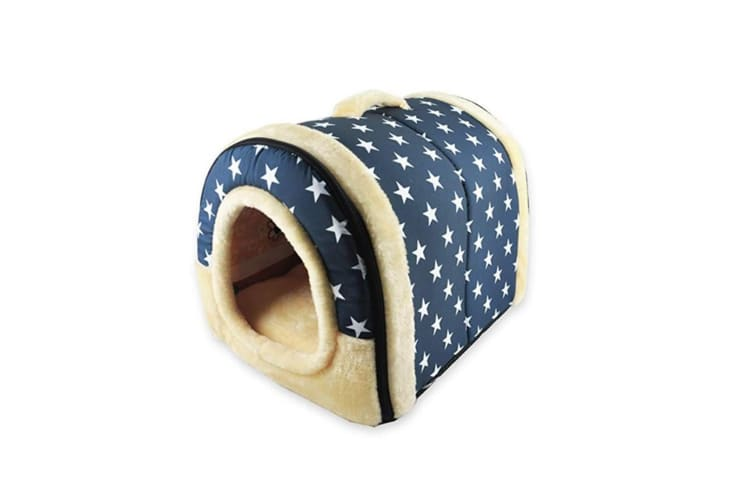 Foldable Cat Bed Cave|Non-Slip Petrabbit House With Detachable Cushion - 6 Xxl