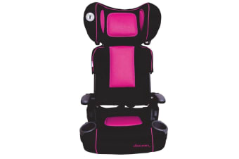 The First Years Ultra Plus Folding Booster Seat in Racing Pink