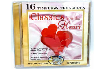 Countdown Singers : Timeless Treasures: Classic From the Heart CD NEW SEALED