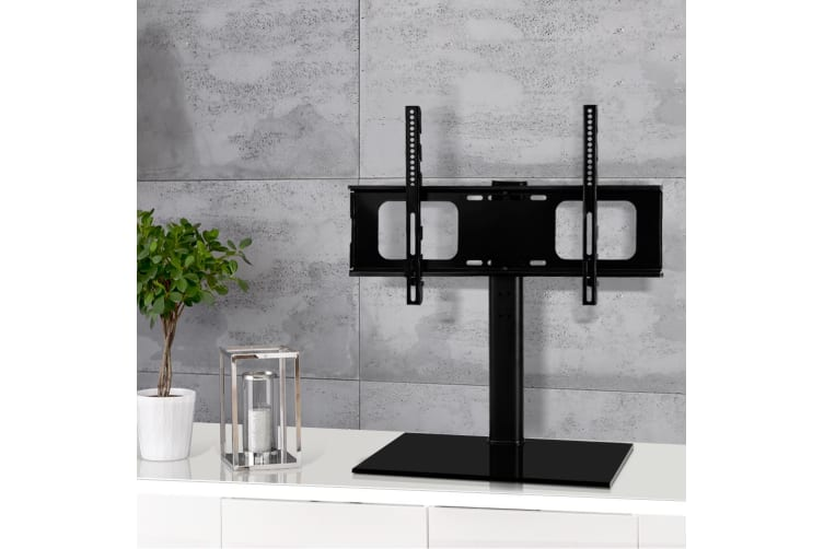 TV Stand with Mount Table Top Swivel Bracket Desktop 32 - 70 inch LED