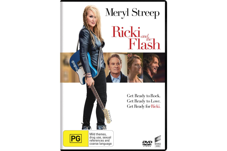 Ricki and the Flash DVD Region 4