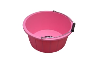 ProStable Feed Bucket (Pink) (3 Gallons)