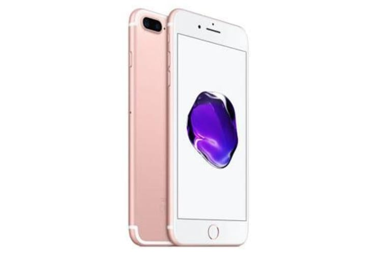 Used as Demo Apple iPhone 7 Plus 128GB 4G LTE Rose Gold (100% GENUINE + 6 MONTHS AU WARRANTY)