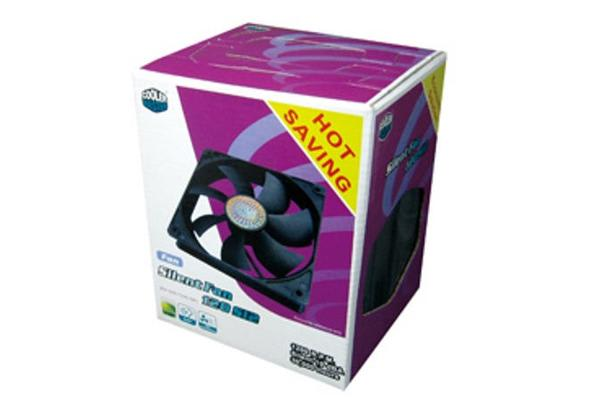 Coolermaster SI2 120mm Fan, 4pcs Pack, Black Colour, Sleeve bearing Silent Operation Fan