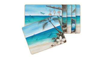 Cinnamon Paddle Bliss Placemats Set of 6