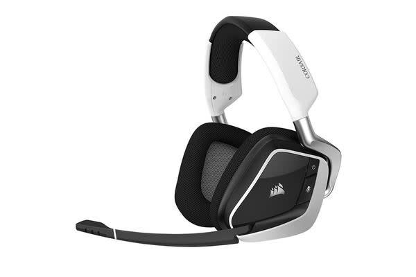 Corsair Void Pro RGB Wireless Dolby 7.1 Surround Sound Gaming Headset For PC - WHITE