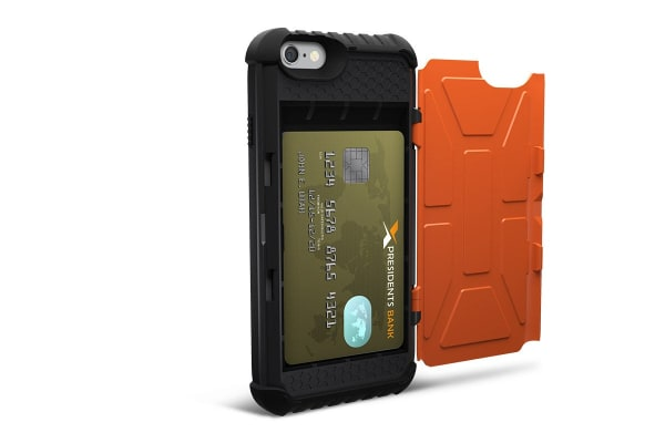 UAG Military Standard Trooper Card Case for iPhone 6 Plus/6s Plus (Rust)