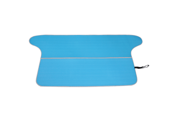 Vehicle-Mounted Folding And Thickening Camping Snow Mat - Blue Blue