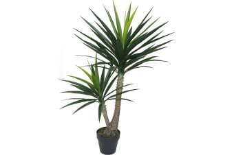 Artificial Yucca Tree In Pot