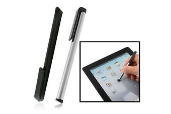 Smartphone  Tablet Pen 2 Pack Ultimate-Control Stylus Pens Black Silver
