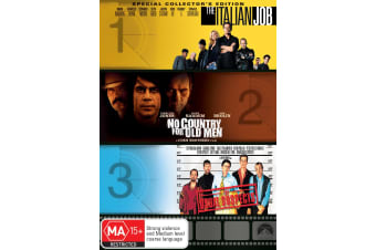 The Italian Job / No Country for Old Men / The Usual Suspects DVD Region 4