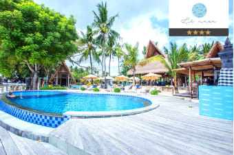BALI: 3, 5 or 7 Nights at Le Nusa Beach Club for Two