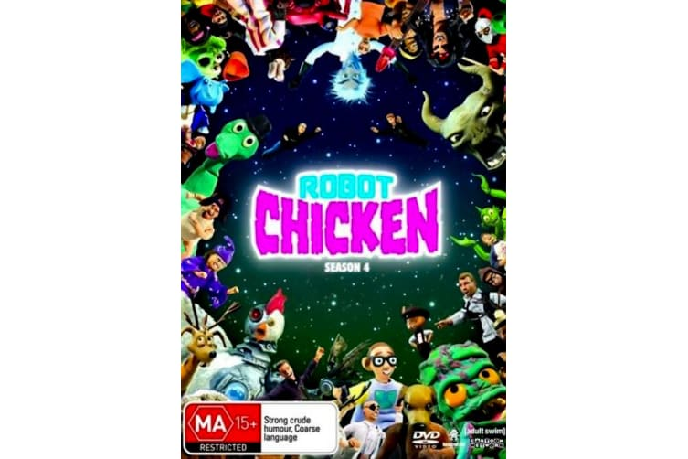 Robot Chicken : Season 4 -Comedy Series Rare- Aus Stock DVD PREOWNED: DISC LIKE NEW