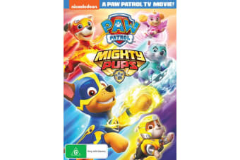 Paw Patrol Mighty Pups DVD Region 4