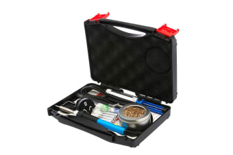 Soldering Iron Kit Electric Solder Kits Tool Wood Burning Welding Station Tips