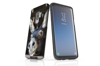 For Samsung Galaxy S9+ Plus Case  Armour Tough Cover  Fun Donkey