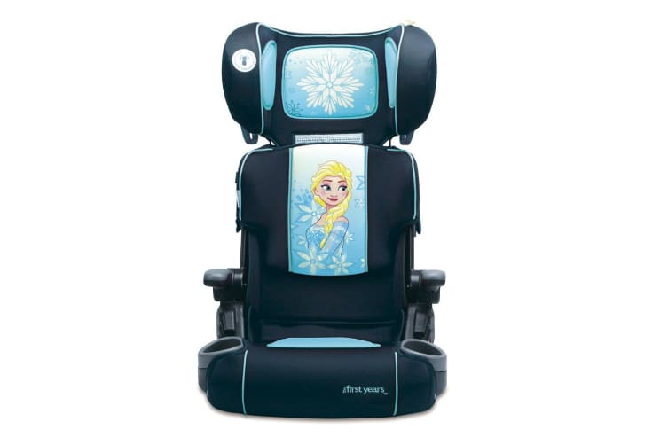 First Years Disney Frozen Foldable Booster Car Seat/4yr+ Toddler Children Kids