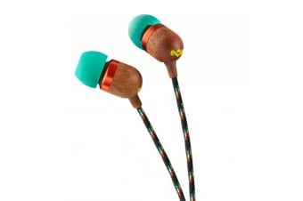 House Of Marley Smile Jamaica In-Ear Earphones 3.5mm For MP3 Player/Portable DVD