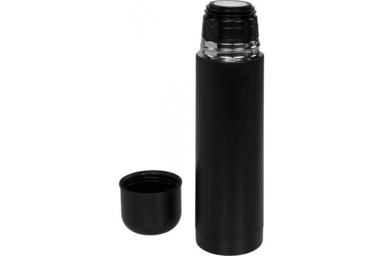 Bullet Gallup Matte Vaccum Flask (Solid Black) (One Size)