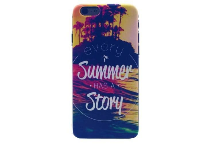 "For iPhone 6S 6 Case ""Every Summer Has a Story"" Durable Shielding Cover"