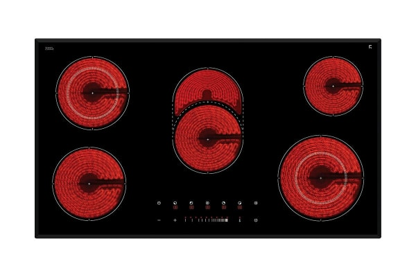 InAlto 90cm 5 Zone Ceramic Cooktop with Slide Control (IE92T)