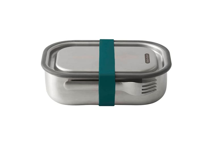 Black + Blum 1L Vacuum Insulated Stainless Steel Lunch Food Box Container Blue