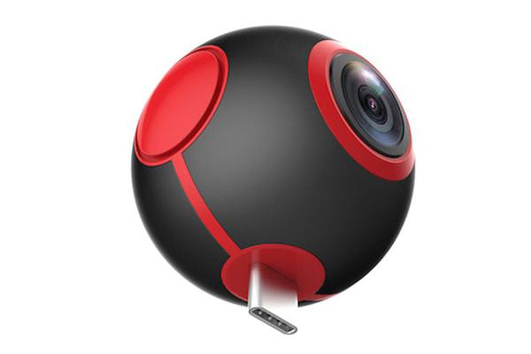 TODO Pano360 Wifi Sports Action Camera 220° Wide Angle 1920X1440 Remote Cam Camcorder
