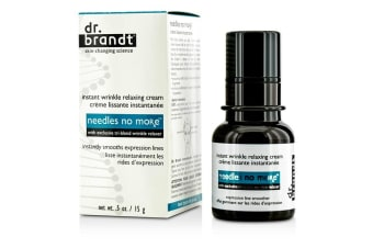 Dr. Brandt Needles No More Instant Wrinkle Relaxing Cream 15g